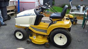 tracteur a jardin   cub cadet