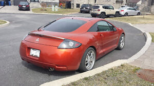 2007 Mitsubishi Eclipse Great Condition. Sports car Look/Sound.