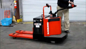 Used Ride On Pallet Jacks| '05 + Reach Trucks $5,000| Racking |