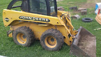 skid steer & operator for property cleanup/landscape great rates