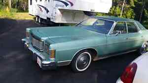 1978 mercury grand marquis. 2500 bucks.