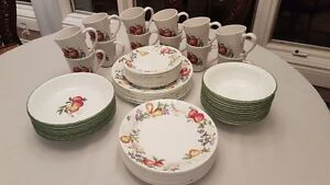 CORELLE CHUTNEY TABLEWARE 72 PIECES for $220.00