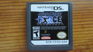 jeux DS star wars the force unleashed