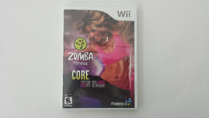 Zumba Fitness: Core pour Nintendo Wii *Comme neuf*