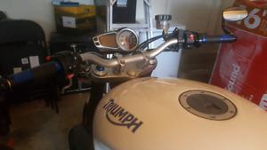 2011 Triumph Speedy - Rizoma