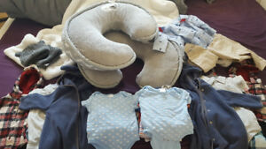TWIN BOY'S Clothing and ITEMS!  0-6 mos