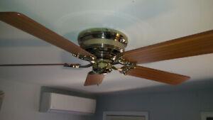 Hampton Bay Ceiling fan ( low profile)