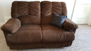Recliner Loveseat and Sofa