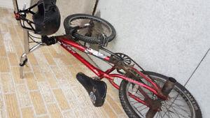 Boys BMX type bike