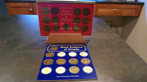 Shell Coats Of Arms/Floral Emblems of Canada Coin Set Kitchener / Waterloo Kitchener Area image 1