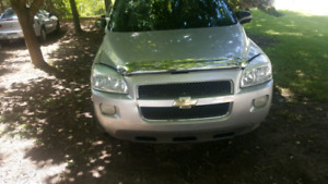 07 chevy uplander part out