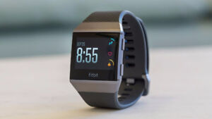 FITBIT IONIC - GRAY CHARCOAL - EXCELLENT CONDITION