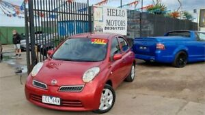 2008 Nissan Micra K12 Burgundy 4 Speed Automatic Hatchback Ravenhall Melton Area Preview
