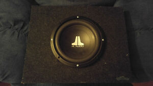 "10"" JL audio/Rockford Fosgate subwoofers"