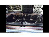 Technics 1210 mk2 1210mk2 pair