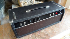 Vintage 1970's Riviera 725 Tube Amp Head by Pepco (Made in CA!)