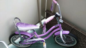 Girl's Banana Seat Bicycle - 16 ""