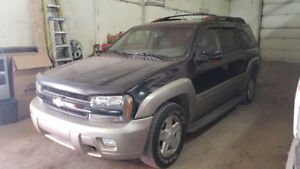 2003 Chevrolet Trail Blazer LT EXT 7 passager cuir. DVD