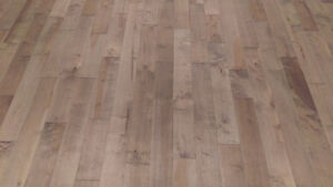 "Maple hardwood - 5 1/4"" wide (plank grade)"