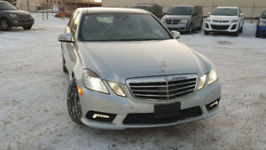 2010 Mercedes E350 4Matic AMG Package 46,000 Kilometers