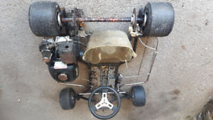 Race GO KART     For Sale. $650 O.B.O. Open to Trades