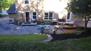 Pet friendly, furnished 3 bedroom house $1800