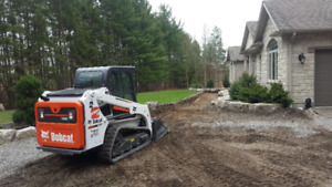 Bobcat and Mini ex services