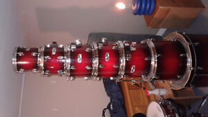 8 piece mapex shell pack and all tom mounts