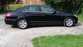 Mercedes EClass E220 CDI Blue Efficiency 2012