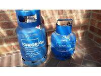 Calor gas butane bottles