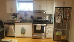 Newly renovated 2 bedroom basement apartment Own laundry/parking