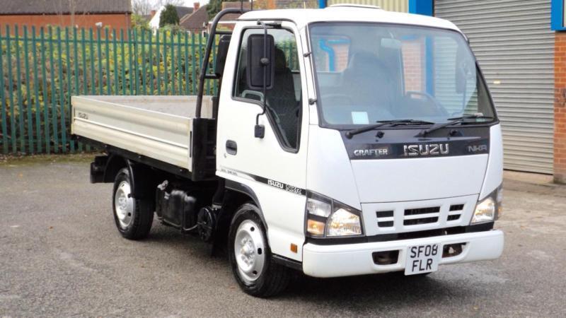 2008 Isuzu grafter Truck NKR white 73000 miles