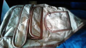 Leather Saddle Bag Purse