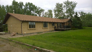 Large home for rent near Fort Qu'Appelle