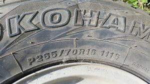 GMC Rims 265 70 16 tires Strathcona County Edmonton Area image 3