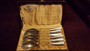 6 piece alpacca spoon set