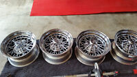 4 Weld Wire Wheels 15 x 8.5 made for C3 Corvettes