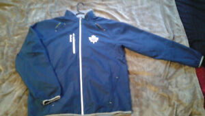 2018 Toronto Center Ice Collection Kinetic Rink FZ Jacket / L