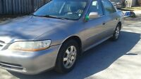 2001 Honda Accord Etested leather sunroof Sedan