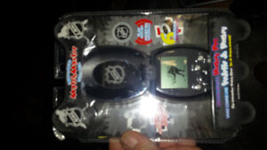 Hand held NHL video game