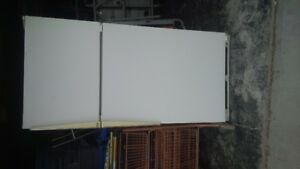 Amana white fridge