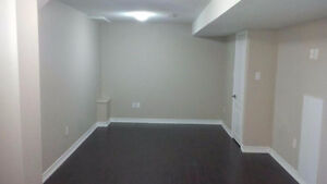 New Basement Two rooms with Parking in posh Milton area