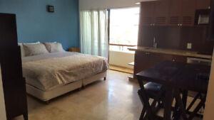 King studios between 5th Ave and the Beach in Playa Del Carmen