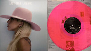 Lady Gaga Joanne Limited Edition Rare Pink Double Vinyl Lp