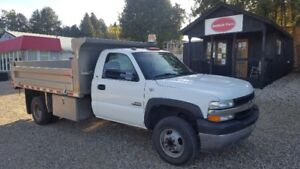 2002 Chevy 2500 11 ft. Dump Certified and E-test