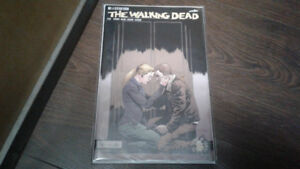 Comic book,Walking Dead #167 signed blood red series