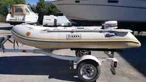 2007 Titan Inflatable with 4hp outboard
