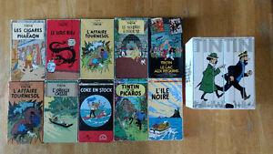 SUPER LOT DE 16 CASETTES VHS DE TINTIN DE 1992-93-94
