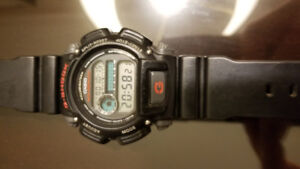 G-Shock Watch DW9052 - Black and Red