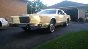 1977 Lincoln continental bagged